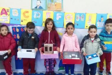 Obras de Van Gogh inspiram trabalhos das crianças de CEI